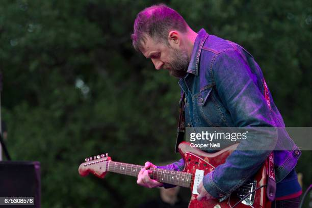 Christian Savill of Slowdive performs during Fortress Festival on April 30 2017 in Fort Worth Texas