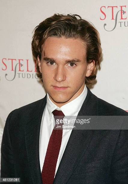 Christian Scheider arrives at the 4th Annual Stella by Starlight Gala Benefit Honoring Martin Sheen at Chipriani 23rd st on March 17, 2008 in New...