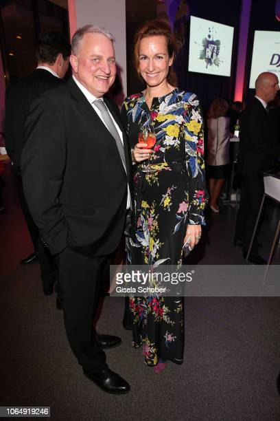 Christian Schottenhamel and Gioia von Thun during the PIN Party at Pinakothek der Moderne on November 24 2018 in Munich Germany