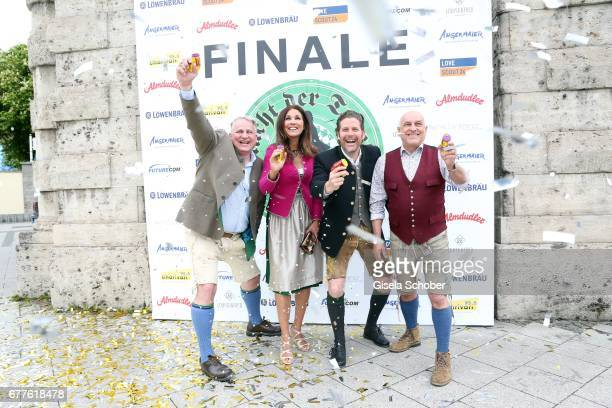 Christian Schottenhamel Karen Webb Philip Greffenius Edition Sportiva and Dr Axel Munz Angermaier Trachten during the 'Nacht der Tracht Finale'...
