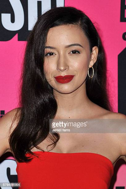 Christian Serratos arrives at Entertainment Weekly's Annual ComicCon Party at Float at Hard Rock Hotel San Diego on July 23 2016 in San Diego...