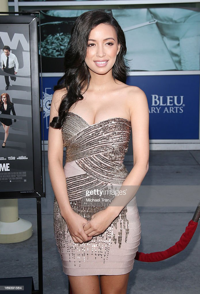 Christian Serratos arrives at the Los Angeles special screening of 'Now You See Me' held at ArcLight Hollywood on May 23, 2013 in Hollywood, California.
