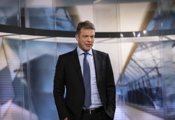DEU: Deutsche Bank AG Chief Executive Officer Christian Sewing Sees Trading Gains, Warns of Headwinds