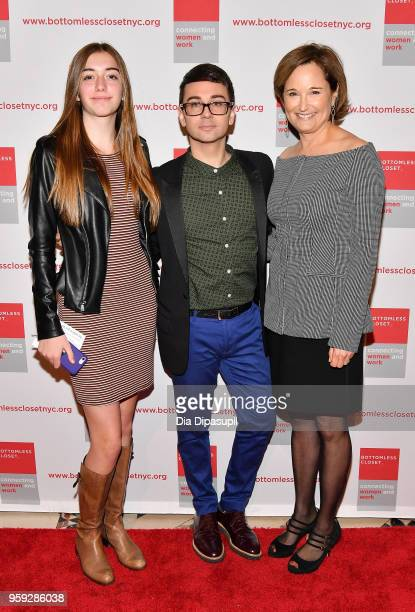 Christian Siriano and Maggie Lear attend the Bottomless Closet's 19th Annual Spring Luncheon on May 16 2018 in New York City