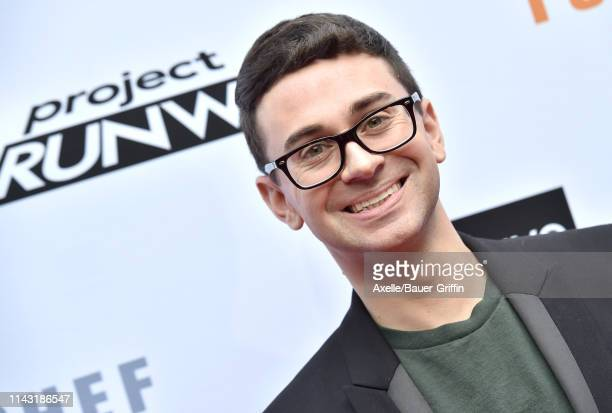 Christian Siriano attends Bravo's Top Chef and Project Runway 'A Night of Food and Fashion' at Vibiana on April 16 2019 in Los Angeles California