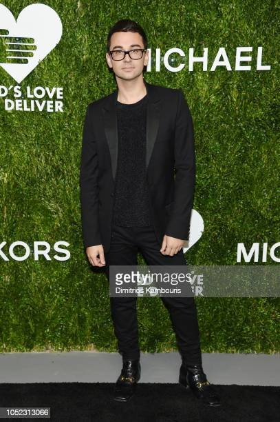 Christian Siriano attends God's Love We Deliver Golden Heart Awards at Spring Studios on October 16 2018 in New York City