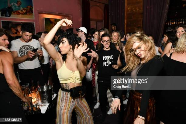 Christian Siriano attends Rose Bar Pride Party hosted by Christian Siriano Bethany C Meyers and Nico Tortorella at Rose Bar at Gramercy Park Hotel on...