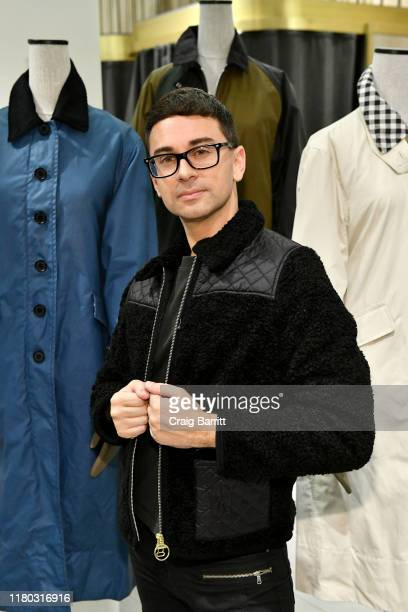 Christian Siriano attends the Barbour By ALEXACHUNG Fall 2019 Collection Celebration at Nordstrom on October 10 2019 in New York City