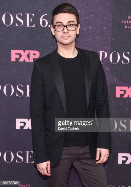 Christian Siriano attends the New York premiere of FX series 'Pose' at Hammerstein Ballroom on May 17 2018 in New York City
