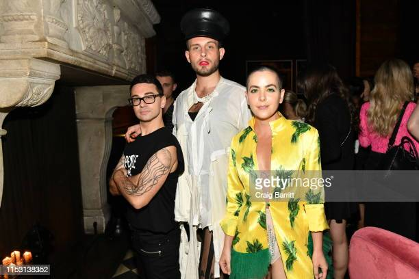 Christian Siriano Bethany C Meyers and Nico Tortorella attends Rose Bar Pride Party hosted by Christian Siriano Bethany C Meyers and Nico Tortorella...