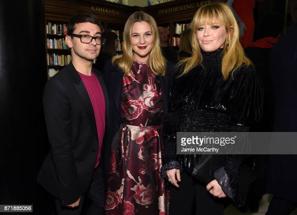 Christian Siriano Drew Barrymore and Natasha Lyonne celebrate the release of his book 'Dresses To Dream About' at the Rizzoli Flagship Store on...