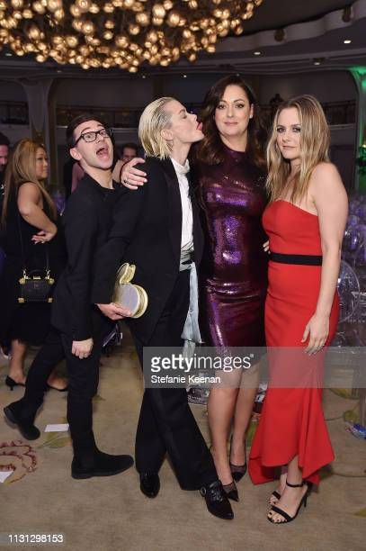 Christian Siriano Jaime King Celeste Barber and Alicia Silverstone attend The Daily Front Row Fashion LA Awards 2019 on March 17 2019 in Los Angeles...