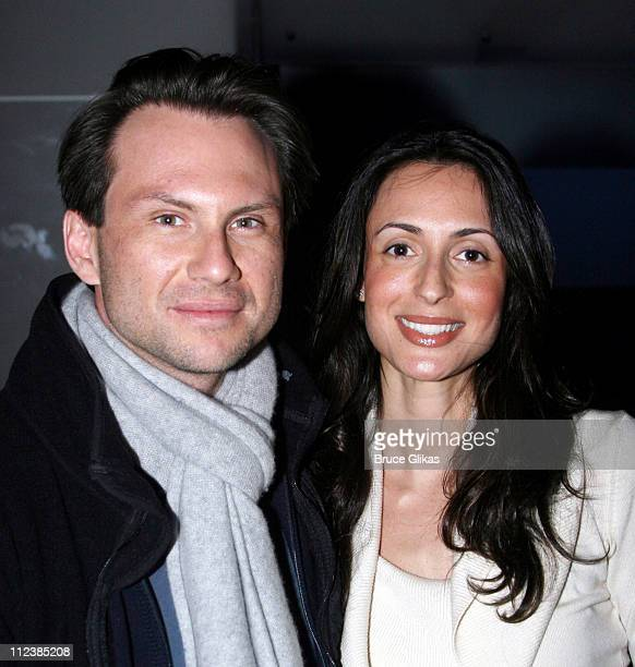 Christian Slater and girlfriend Jessica
