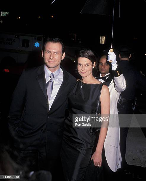 Christian Slater and Ryan Haddon during Grand ReOpening Gala for Radio City Music Hall at Radio City Music Hall in New York City New York United...