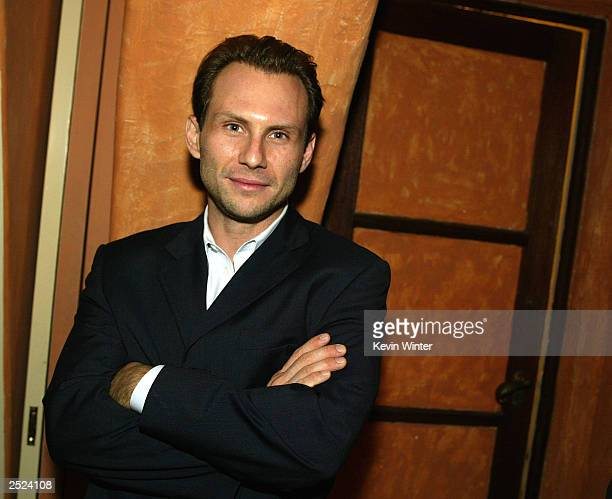 "Christian Slater at ""One World, One Child Benefit Concert"" for the Children's Health Environmental Coalition honoring Meryl Streep, Nell Newman and..."