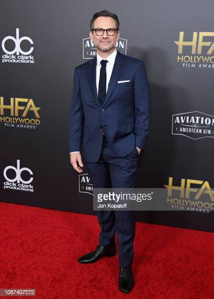 Christian Slater attends the 22nd Annual Hollywood Film Awards at The Beverly Hilton Hotel on November 4 2018 in Beverly Hills California