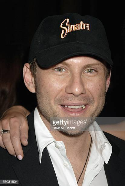 Christian Slater attends the after party following the world premiere and press night for new stage production 'Sinatra At The London Palladium' at...