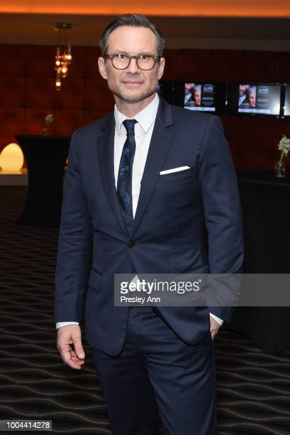 Christian Slater attends the after party for Sony Pictures Classics' premiere of The Wife on July 23 2018 in West Hollywood California