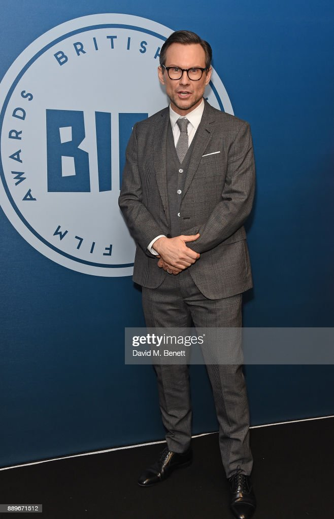 Christian Slater attends the British Independent Film Awards held at Old Billingsgate on December 10, 2017 in London, England.