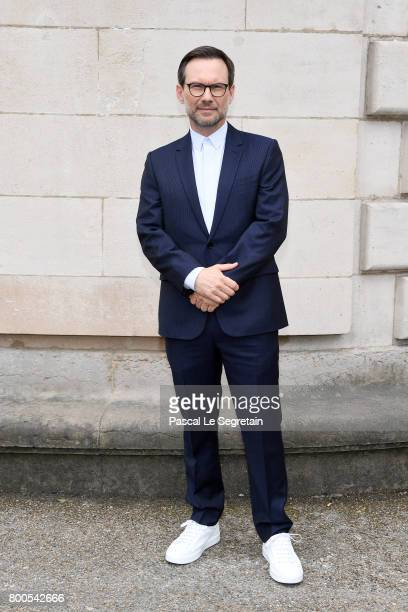 Christian Slater attends the Dior Homme Menswear Spring/Summer 2018 show as part of Paris Fashion Week on June 24 2017 in Paris France