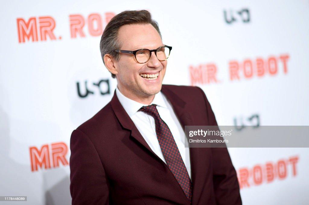 """""""Mr. Robot"""" Season 4 Premiere : News Photo"""