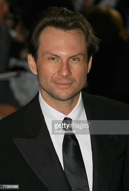 Christian Slater attends the National Movie Awards held at the Royal Festival Hall on September 28 2007 in London Photo by Chris Jackson/Getty Images