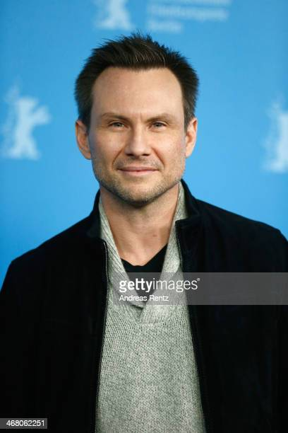 Christian Slater attends the 'Nymphomaniac Volume I ' photocall during 64th Berlinale International Film Festival at Grand Hyatt Hotel on February 9...