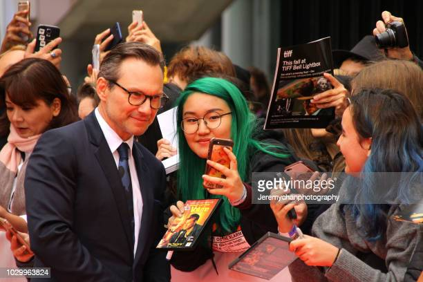 Christian Slater attends 'The Public' Premiere during 2018 Toronto International Film Festival at Roy Thomson Hall on September 9 2018 in Toronto...