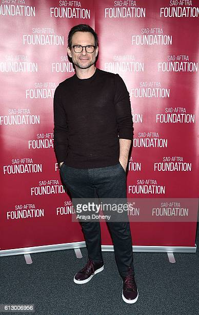 Christian Slater attends the SAGAFTRA Foundation conversations with 'Mr Robot' at SAGAFTRA Foundation on October 6 2016 in Los Angeles California