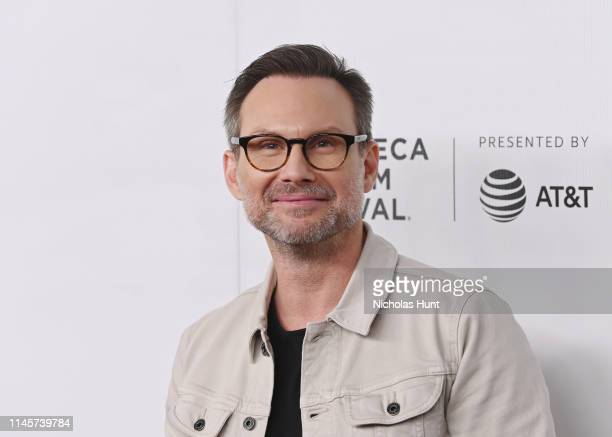 Christian Slater attends Tribeca Talks A Farewell To Mr Robot 2019 Tribeca Film Festival at Spring Studio on April 28 2019 in New York City
