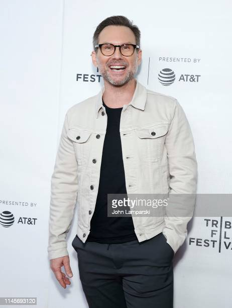 Christian Slater attends Tribeca Talks A Farewell To Mr Robot at Spring Studios on April 28 2019 in New York City