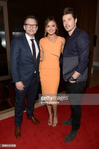 Christian Slater Christine Evangelista and Josh Henderson attends The Alliance For Children's Rights 26th Annual Dinner at The Beverly Hilton Hotel...