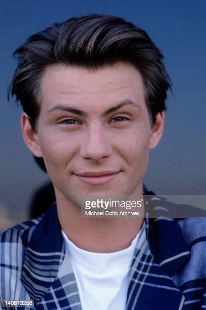 Christian Slater circa 1986