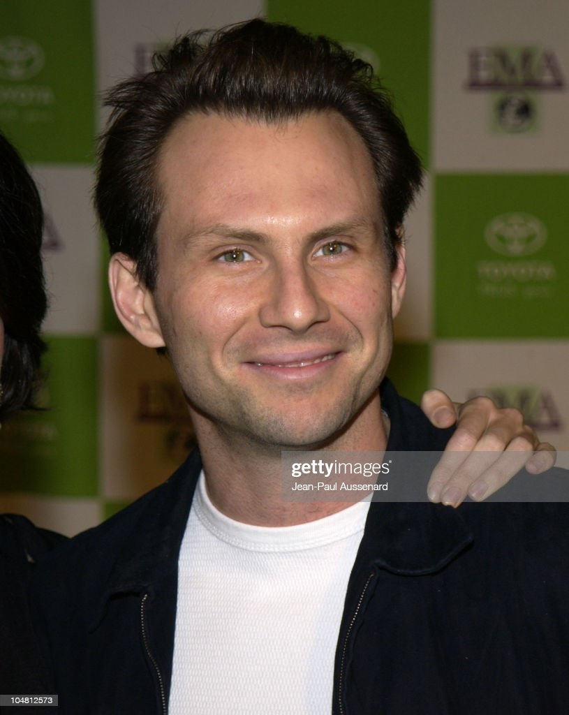 Christian Slater during 12th Annual Environmental Media Awards at Wilshire Ebell Theatre in Los Angeles, California, United States.