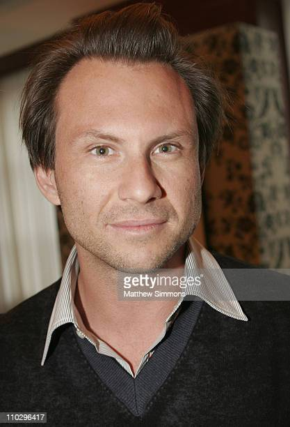 Christian Slater during 2006 Diesel Portrait Studio Presented by Inside Entertainment and Wireimage - Day 6 at Portrait Studio in Toronto, Ontario,...