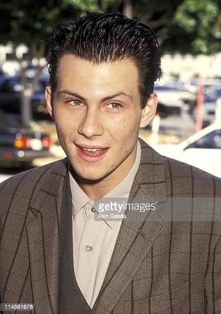 Christian Slater during 238253 in Westwood CA United States