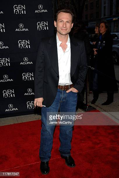"""Christian Slater during GenArt Film Festival Closing Night Featuring """"He Was A Quiet Man"""" at Clearview Chelsea West Theater in New York City, New..."""