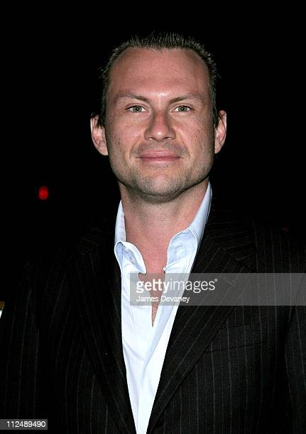 Christian Slater during Harvey Weinstein Hosts a Private Screening of Bobby for Senators Obama and Schumer After Party at Plaza Athenee in New York...