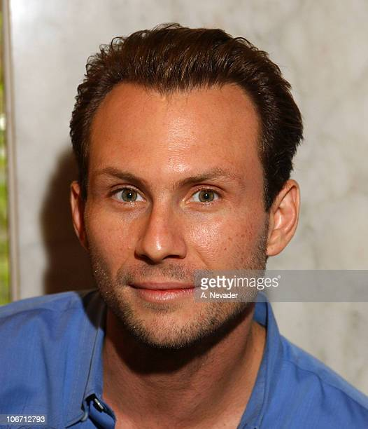 Christian Slater during 'Lullabies and Luxuries' Luncheon Benefiting Caring for Children and Families with AIDS at Regent Beverly Wilshire Hotel in...