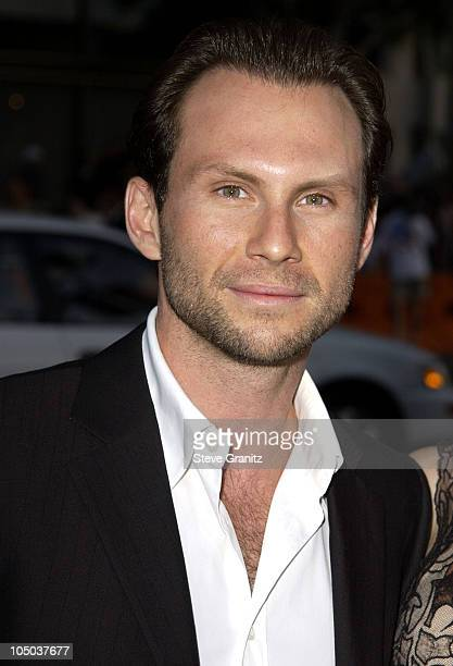 Christian Slater during Windtalkers Premiere at Grauman's Chinese Theatre in Hollywood California United States