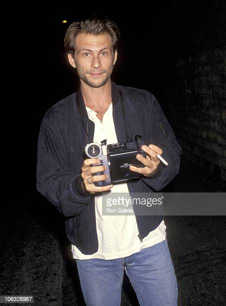 Christian Slater during World Premiere of 'Malice' September 29 1993 at Academy Theater in Beverly Hills California United States