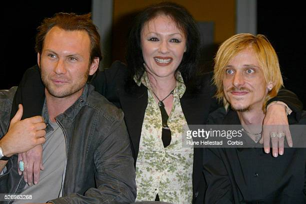 Christian Slater Frances Barber and Mackenzie Crook will star in the theater production of One Flew Over the Cuckoo's Nest at the Gielgud Theatre