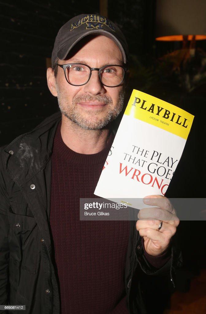 Celebrities Visit Broadway - April 16, 2017