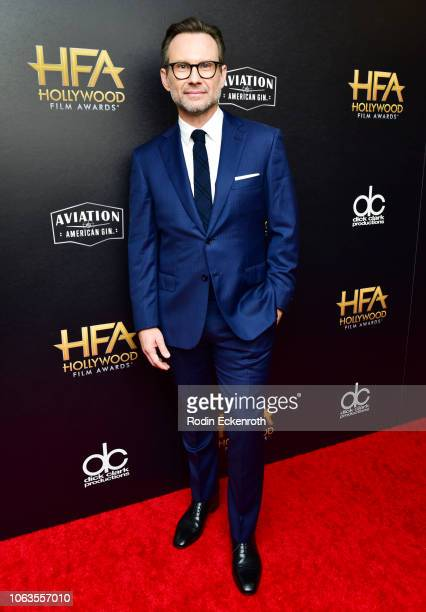 Christian Slater poses in press room at the 22nd Annual Hollywood Film Awards on November 04 2018 in Beverly Hills California