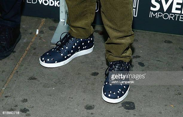 Christian Slater shoe detail attends 'King Cobra' New York Premeire at IFC Center on October 20 2016 in New York City