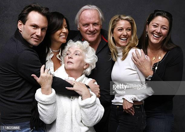 Christian Slater Stella Arroyave Fionnula Flanaigan Anthony Hopkins Lisa Pepper and Camryn Manheim