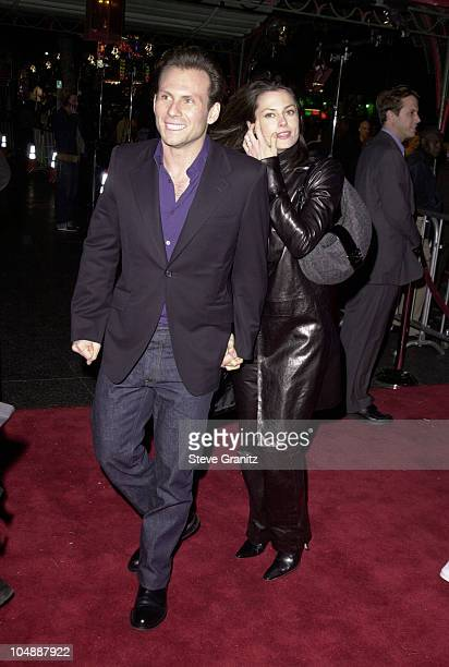 Christian Slater Wife during 'The Family Man' Los Angeles Premiere at Mann Chinese Theatre in Hollywood California United States