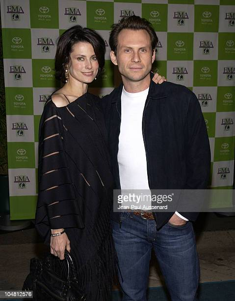 Christian Slater wife Ryan Haddon during 12th Annual Environmental Media Awards at Wilshire Ebell Theatre in Los Angeles California United States