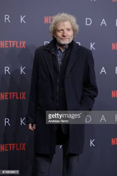 Christian Steyer attends the premiere of the first German Netflix series 'Dark' at Zoo Palast on November 20 2017 in Berlin Germany
