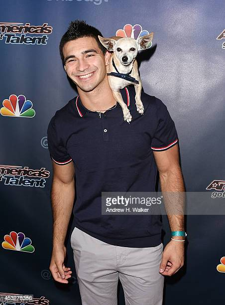 Christian Stoinev attends America's Got Talent season 9 post show red carpet event at Radio City Music Hall on August 6 2014 in New York City